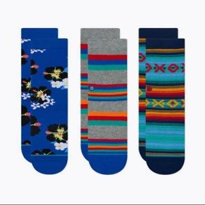 Stance Cade Kids Pack Socks Youth M (11-1)